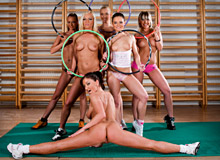 Adrianna Ruso, Gina Blonde, Lea Lexus and Friends