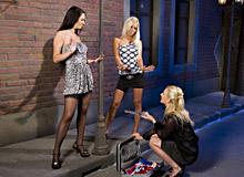 Antonia, Blond Cat and Adele