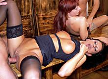 Bianca and Carmen White