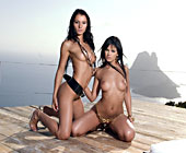 Black Angelika And Lucy Belle