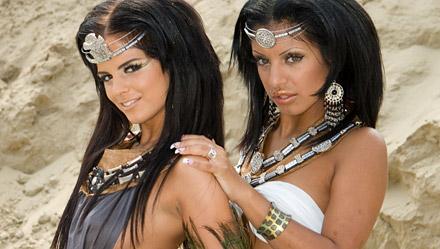 Black Angelika And Kyra Black
