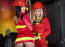 Cindy Dollar and Renata Black