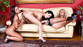 Cindy Hope, Clara G And Jade Sin