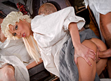 Evelyn Lory, Lucy Love and Silvia Saint