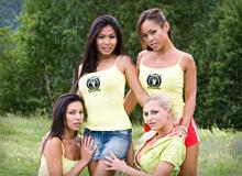 Jade Sin, Jennifer Love, Priva and Vanessa May