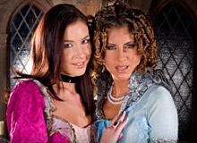 Jennifer Stone and Thalia