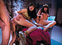 Jessica May, Julia Taylor and  Lucky