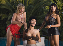 Josette Most, Kathy Cambel and Loona Luxx