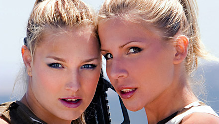 Katy Caro and Tiffany Rousso