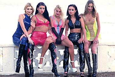 Katy, Sandra Russo, Tamara N-Joy, Monika Sweetheart, Daniella Rush