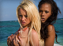 Kisha Kane and Leigh Logan