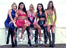 Lea de Mae, Katy, Monika Sweetheart, Monica Moore, Daniella Rush and Sandra Russo