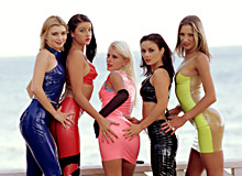 Lea de Mae, Katy, Monika Sweetheart, Monica Moore, Daniella Rush and Sandra Russo