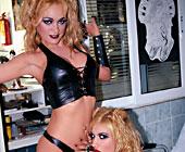 Malena Conde And Celia Blanco