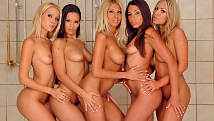 Zafira, Eve Angel, Clara G, Sophie Moone And Bridgett