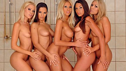 Zafira, Eve Angel, Clara G, Sophie Moone And Bridgett