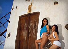 Natalia Zeta and Sabrina Sweet