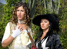 Nikky Rider and Jennifer Stone
