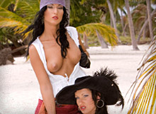 Nikky Rider and Yvonne Peach