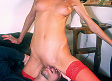 Sandra Iron and Angelica Love