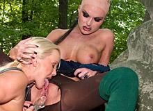 Silvia Saint, Simony Diamond and Gina B
