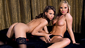 Silvia Saint And Veronica Clinton