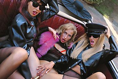 Sophie Evans, Cassandra Wild, Lorena Red