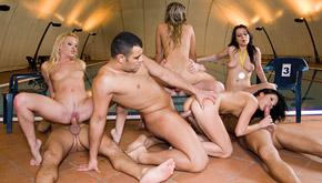 Cherry Jul, Lulu Martinez, Tea Blondie and Veronica Sanchez