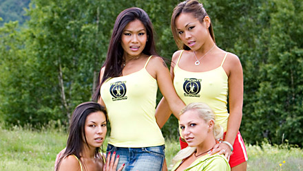 Vanessa May, Jade Sin, Priva and Jennifer Love
