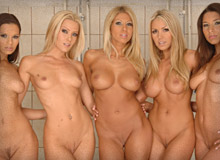 Zafira, Eve Angel, ClaraG and Friends