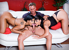 Zuleidy, Simony Diamond and Kyra Black