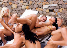 Angel Dark, Suzie Diamond, Carla Cox and Trisha Brill