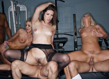 Bobbi Starr, Carla Cox and Amy Brooke
