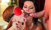Private – Cougar Celine Makes Her Sex Slave Linda Take an Anal Gaping Pounding