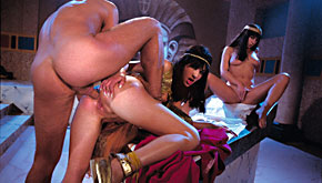 Julia Taylor, Jessica May and Lucky