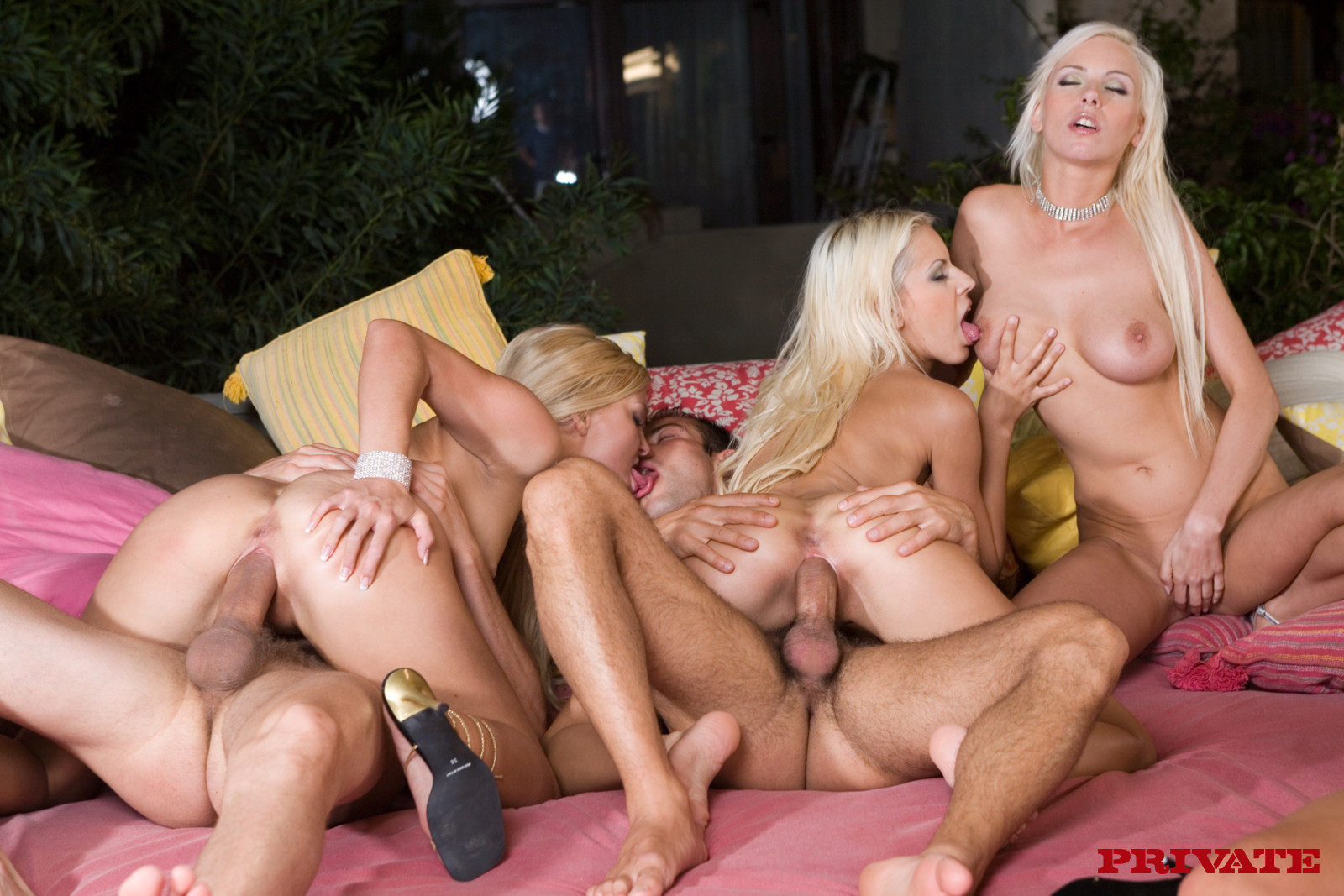 Ibiza porn party private sex
