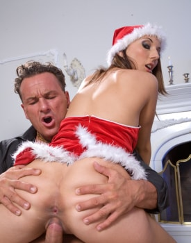 A Christmas Orgy with Mandy Bright and Friends-6