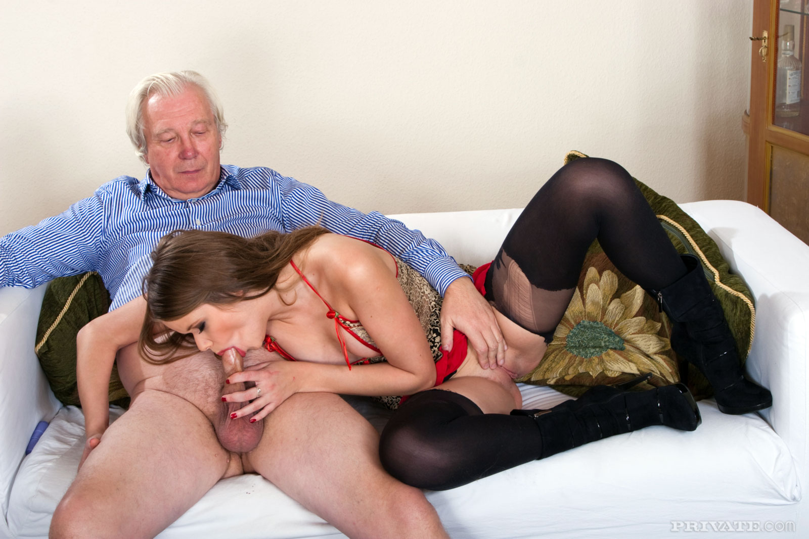 Daddy fuck young the plumber gets his pipe 6