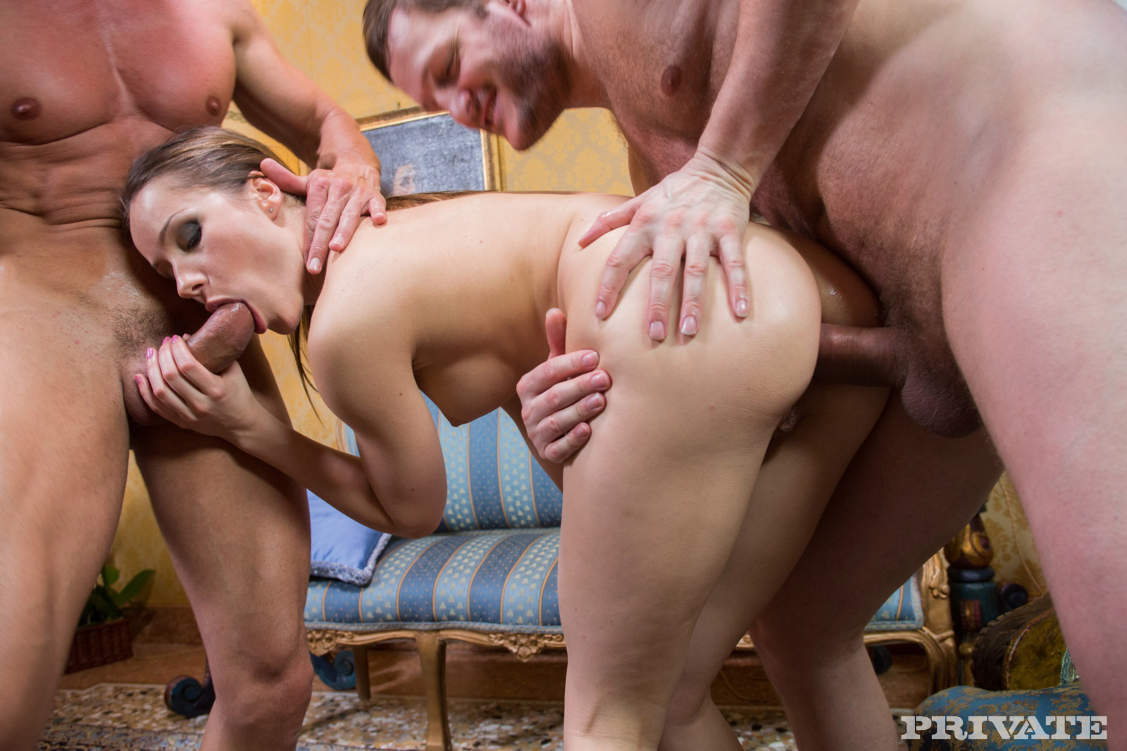 Порно онлайн оттрахали 71