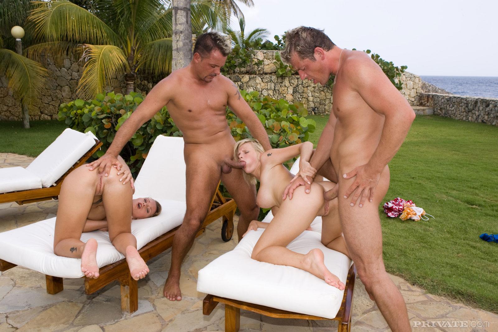 erotic interracial group sex story