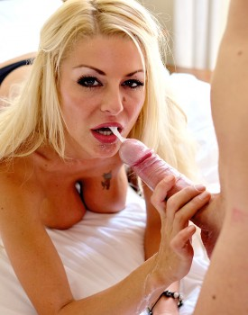 Busty Blonde Milf Tia Layne Swallows a Cumshot-11
