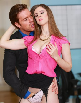 Busty Office Slut Stella Cox Gets Nailed by Her Boss-2