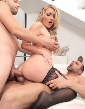 Blonde Model Jemma Valentine Has Hardcore DP-2
