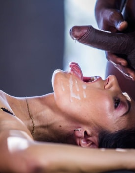 MILF Ania Kinski Squirts On Her First Interracial Dick-11