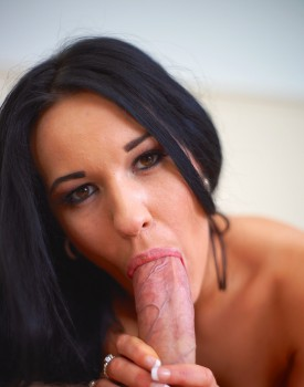 Teen Carmel Cox is Serviced by a Rock Hard Cock-4