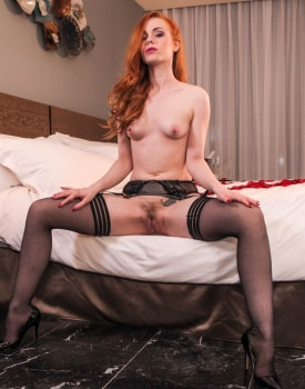 Ella Hughes celebrates her engagement with a vaginal creampie-4