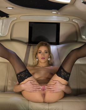Classy New Cummer Ria Sunn Gets Destroyed in the Back of a Limo-1