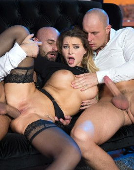 Perky Tit Anna Polina Gets Some Rough DP-6