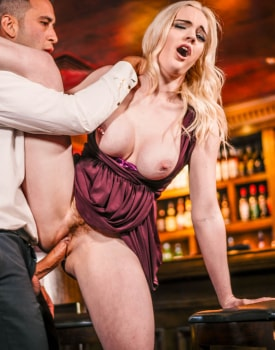 Stripper Danny Carly Rae Enjoys anal sex with the bartender-7