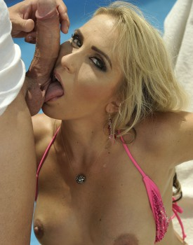Nasty New Milf Julia Pink Mixes Wine and Cum -4